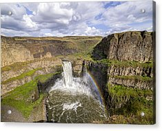 Acrylic Print featuring the photograph Palouse Falls by Albert Seger