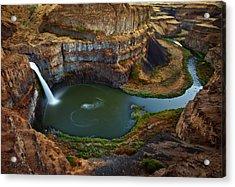 Palouse Falls Acrylic Print by Darren White