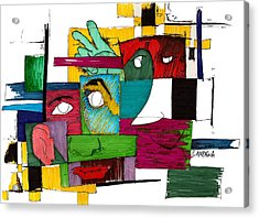 Pals Acrylic Print