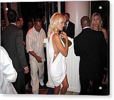 Pamela Anderson Acrylic Print