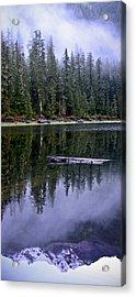 Pamelia Lake Reflection Acrylic Print