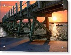 Pamet Harbor Sunset Acrylic Print