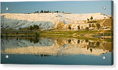 Pamukkale Acrylic Print by Alessia Cerqua