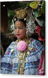 Panamanian Queen Of The Parade Acrylic Print