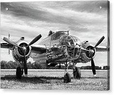 Panchito B-25 Acrylic Print by Peter Chilelli