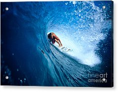 Pancho In The Tube Acrylic Print by Vince Cavataio - Printscapes
