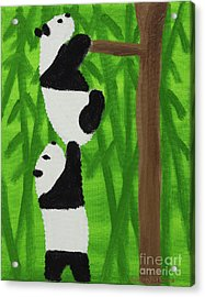 Pandas Acrylic Print
