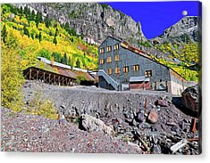 Pandora Mill - Telluride - Colorful Colorado Acrylic Print by Jason Politte