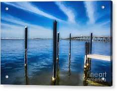 Acrylic Print featuring the photograph Panhandle Poles # 3 by Mel Steinhauer