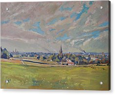 Panorama Maastricht Acrylic Print by Nop Briex