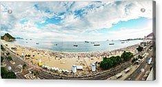 Panorama Of Copacabana, Rio De Janeiro, Brazil  Acrylic Print