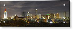 Panorama Of The Austin Skyline On A September Morning Acrylic Print