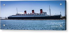 Panorama Of The Queen Mary Acrylic Print