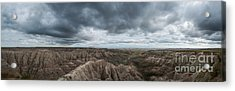 Panorama Point Badlands South Dakota Acrylic Print