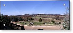 Panorama View At Arrington Vineyards Acrylic Print by Marian Bell