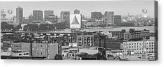 Panoramic Boston Skyline Aerial Photo Acrylic Print by Paul Velgos
