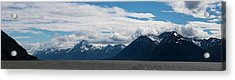 Panoramic View Of Beluga Point Acrylic Print