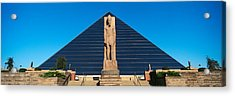 Panoramic View Of Statue Of Ramses Acrylic Print by Panoramic Images