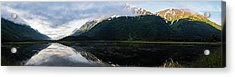 Panoramic View Of Tern Lake Acrylic Print