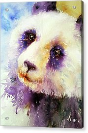 Pansy The Giant Panda Acrylic Print
