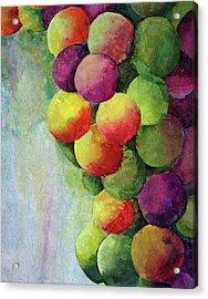 Paper Grapes Acrylic Print
