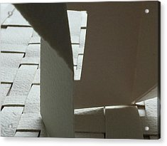 Paper Structure-1 Acrylic Print