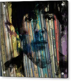 Paperback Writer Acrylic Print by Paul Lovering