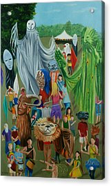 Paperhand Puppet Parade Acrylic Print
