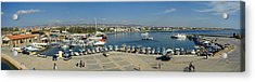 Paphos Harbour Acrylic Print by Donald Buchanan