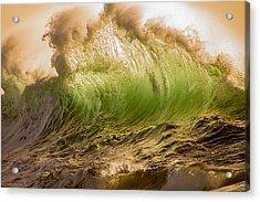 Papohaku Waves Acrylic Print