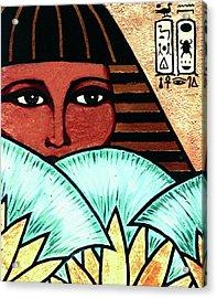 Papyrus Girl Acrylic Print