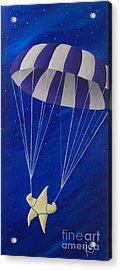 Para-shooting Star Acrylic Print by Kerri Ertman
