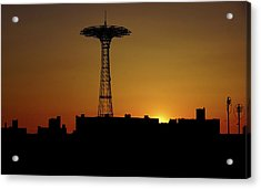 Parachute Jump Coney Island Acrylic Print
