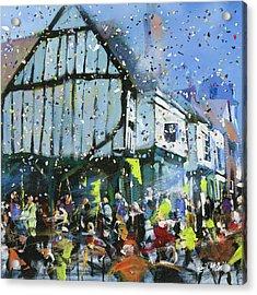 Parade In York Acrylic Print by Neil McBride