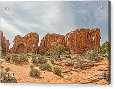 Acrylic Print featuring the photograph Parade Of Elephants by Sue Smith