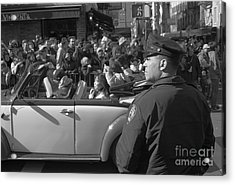 Parade Security Acrylic Print by Clarence Holmes