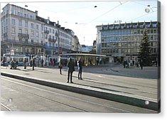 Paradeplatz - Bahnhofstrasse, Zurich Acrylic Print