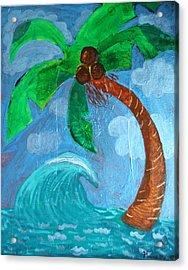 Paradise Acrylic Print by Amy Parker