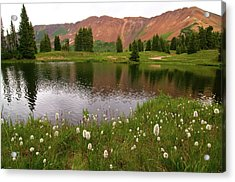Acrylic Print featuring the photograph Paradise Basin by Steve Stuller