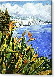 Paradise Bay Acrylic Print
