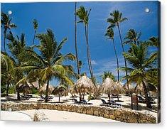 Paradise Beach Acrylic Print