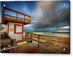 Paradise Beach Sunrise Acrylic Print