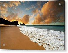 Paradise Acrylic Print by Bob Christopher