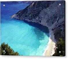 Paradise Cove Acrylic Print