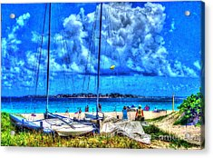 Paradise Acrylic Print by Debbi Granruth