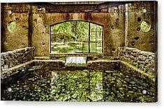 Paradise Forgotten Acrylic Print