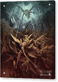 Paradise Lost,  Fall Of The Rebel Angels, Acrylic Print