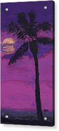 Paradise Palm Acrylic Print by Maggie  Morrison