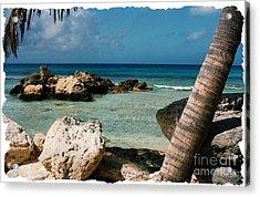 Paradise Rock Acrylic Print