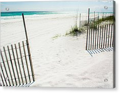 Paradise Scenery Acrylic Print by Shelby  Young